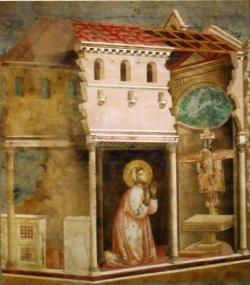 Visione nella Chiesa di S. Damiano