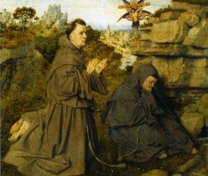 Jav van Eyck (1390 - 1441): Le stimmate di S. Francesco - Torino: Gelleria Sabauda